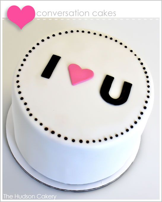 Such a adorable and simple cake.  I am NOT a cake or cookie decorator by any stretch, but I think all of us could attempt something this sweet and simple (though I'm a buttercream girl, fondant scares me!)  SO SO cute!