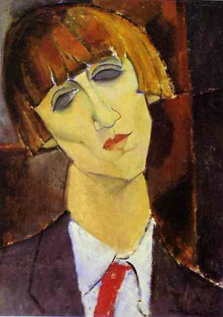 Portrait of Madame Kisling, 1917  Amedeo ModiglianiAmadeo Modigliani, Oil On Canvas, Art Museums, 1917, Portraits, Oil Painting, National Gallery, Amedeo Modigliani, Madame Kisling