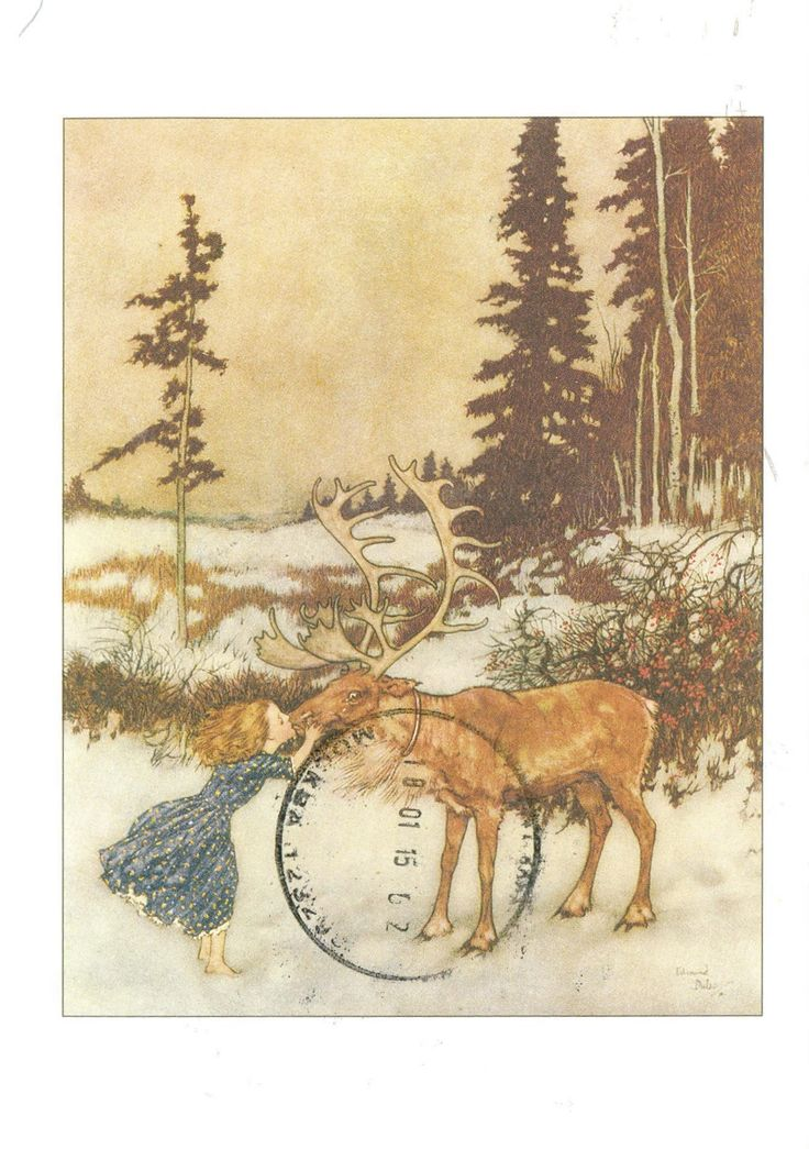 'The Snow Queen' (H. C. Andersen) by Edmund Dulac