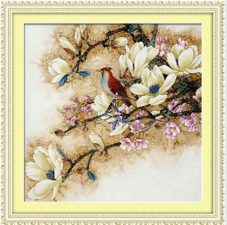 >> Click to Buy << beautiful flowers cross stitch kits DMC 100% accurate 11ct printed embroidery DIY handmade needlework wall home decor canvas #Affiliate