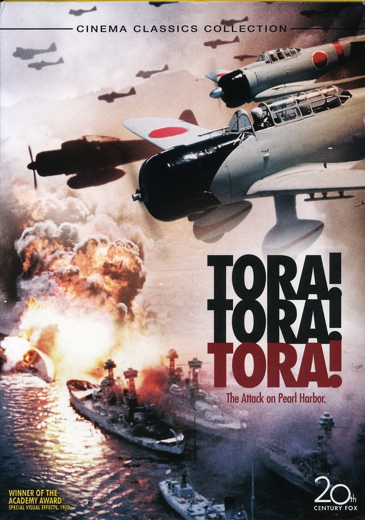 Tora! Tora! Tora! (1970): Movie that tells both sides of the Pearl Harbor disaster that brought the US into WWII..! Starring: Martin Balsam, Sô Yamamura and Jason Robards. Won Oscar!