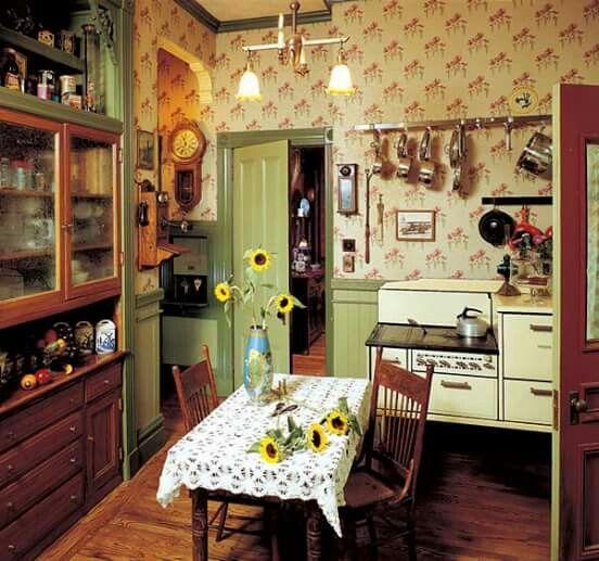 Cozy kitchen Country kitchen farmhouse, Farmhouse style