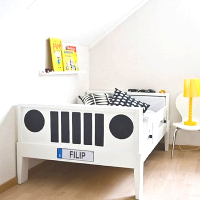 15 best Kid Room Ideas images on Pinterest | Child room, Jeep bed ...