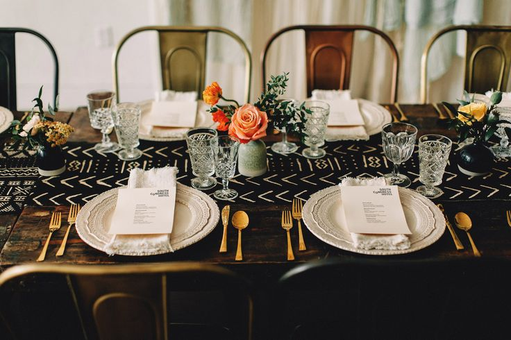 South Congress Hotel in Austin, TX is perfect for bridal showers, bridal luncheons, dinner parties & other social events