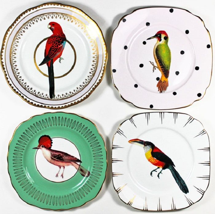 china plate reuse