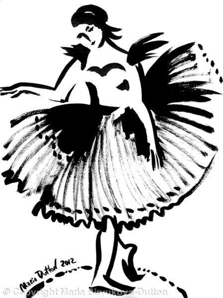 Ballerina's+skirt+Num+4+-+Ink+on+paper