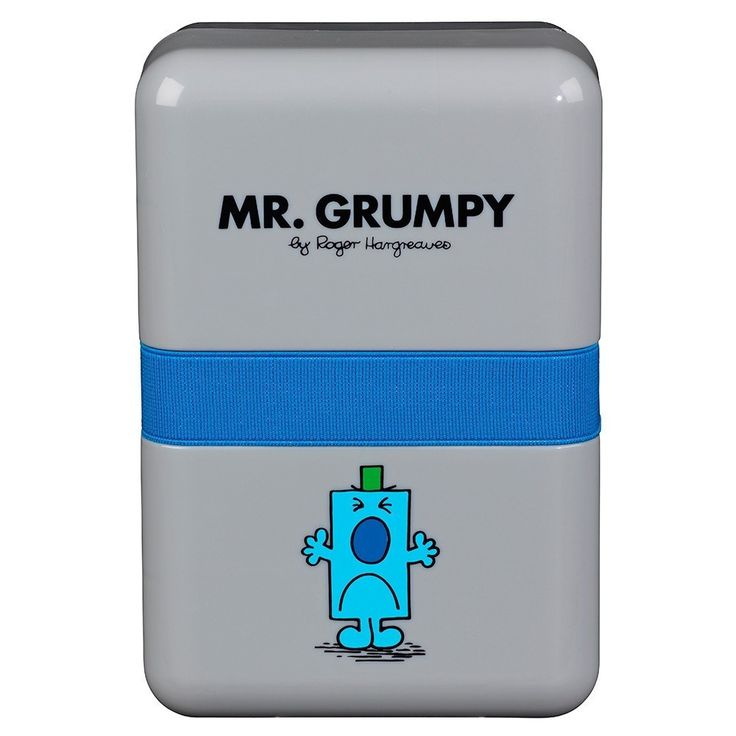 Mr Grumpy Lunch Box Wild And Wolf #mzube #cool #birthday #quirky #gift #sale #shopping #gifts