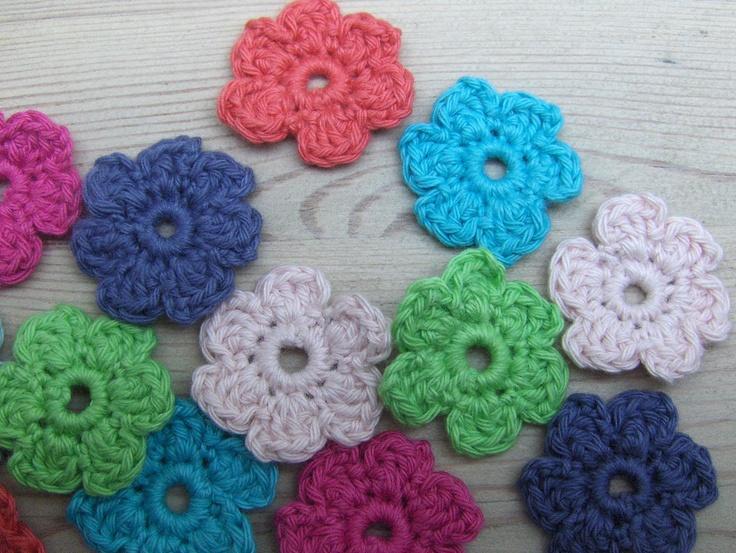 Mit pusterum: hæklede blomster