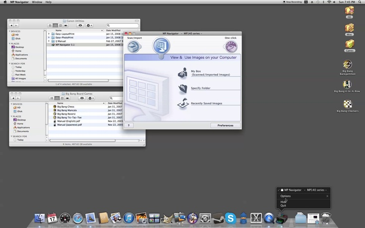 Adding and Removing Program Icons from the Dock of a Mac Computer