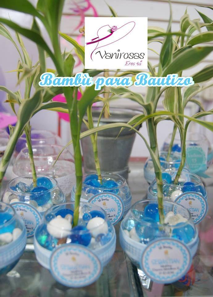 Recuerdos para Bautizo. Bambu