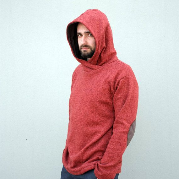 Sweater Sweater with hood Warm sweater Cotton by clothesNavaho
