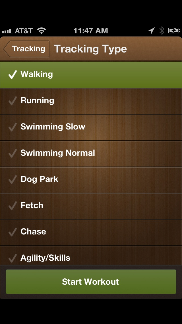 dog tracking app iphone