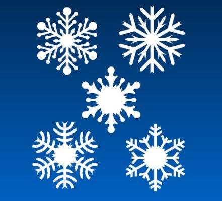 Gallery For > Images Of Snowflakes