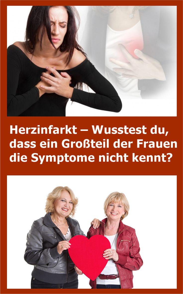 Herzinfarkt – Wusstest du, dass ein Großteil der Frauen die Symptome nicht ke…
