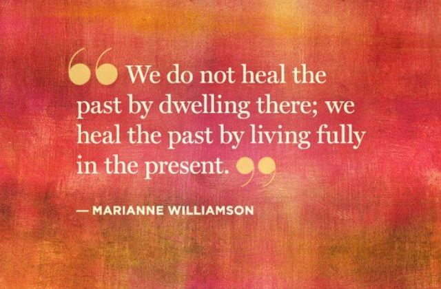 Healing quote by Marianne Williamson