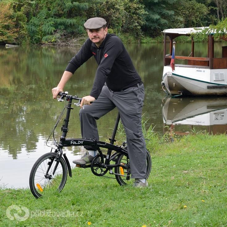 Folding bike Foldy   Skládací kolo Foldy > Priblizovadla.cz