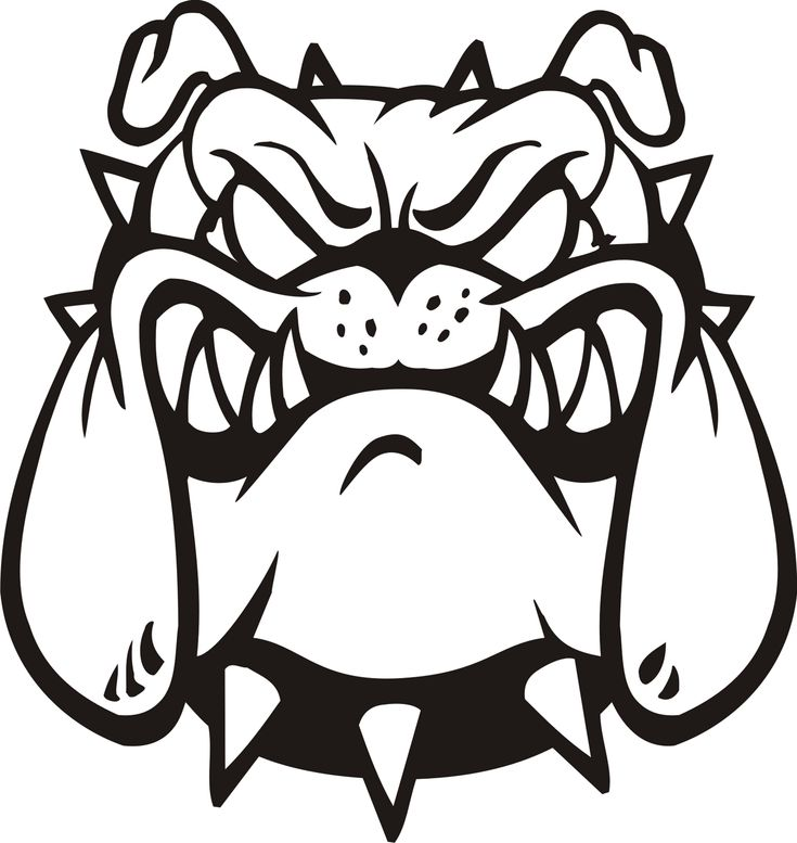 bulldog stencil best 25 bulldog clipart ideas on pinterest puppy 6834