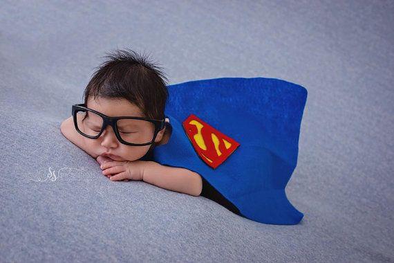 Newborn Superman Cape set -
