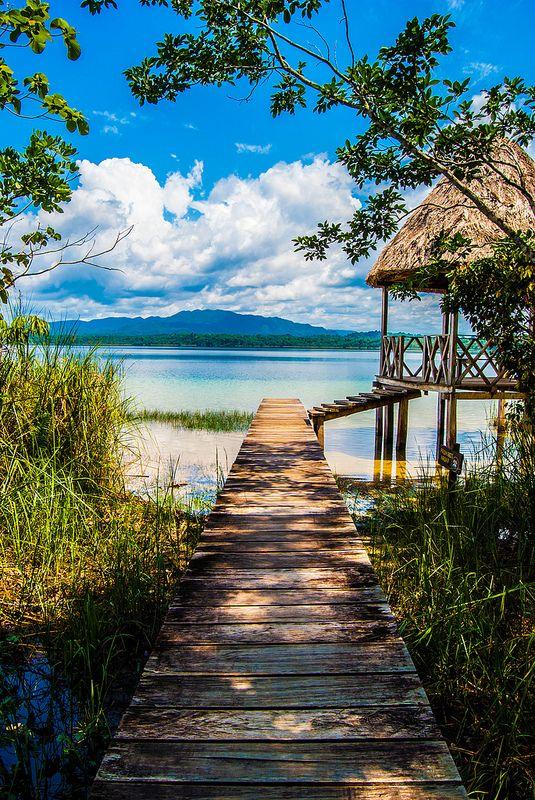 Laguna Lachuá, #Guatemala | Honeymoons to the Caribbean http://www.pinterest.com/FLDesignerGuide/honeymoons-to-the-caribbean/