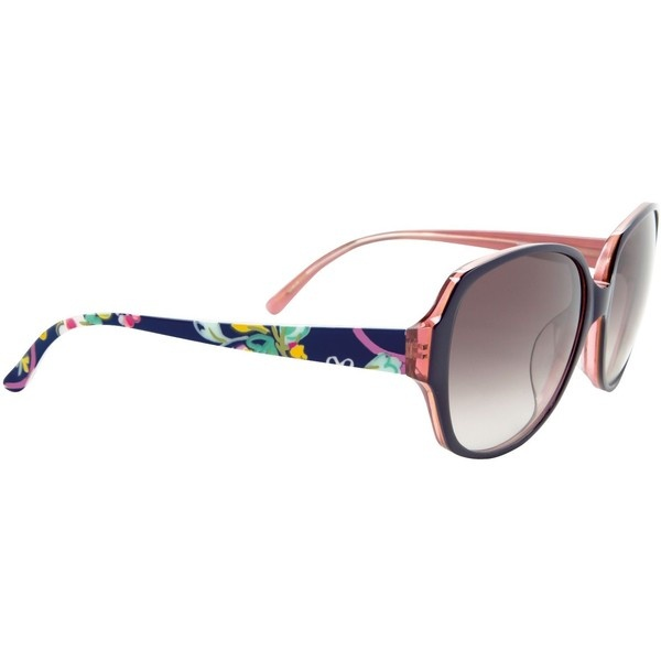 Vera Bradley Lillian sunglasses ❤ liked on Polyvore