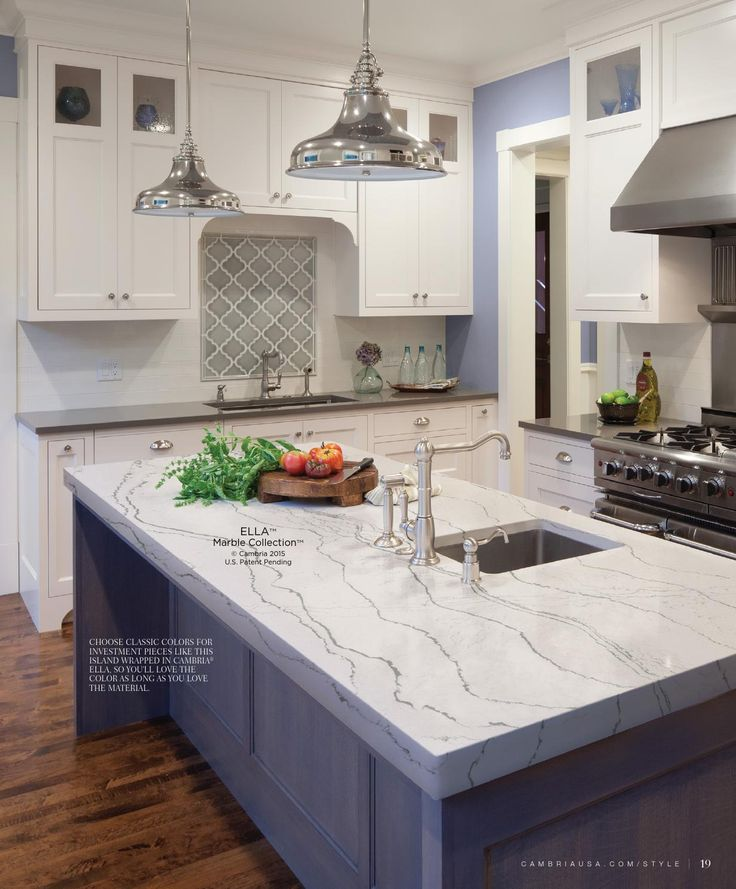 cambria style summer - Kitchen Countertop Options