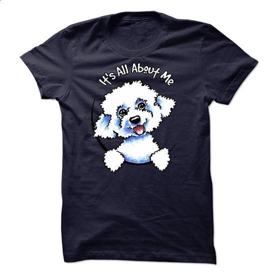 Bolognese :: Its all about me - K01 - #formal shirt #hoodie fashion. BUY NOW => https://www.sunfrog.com/Pets/Bolognese--Its-all-about-me--K01.html?68278