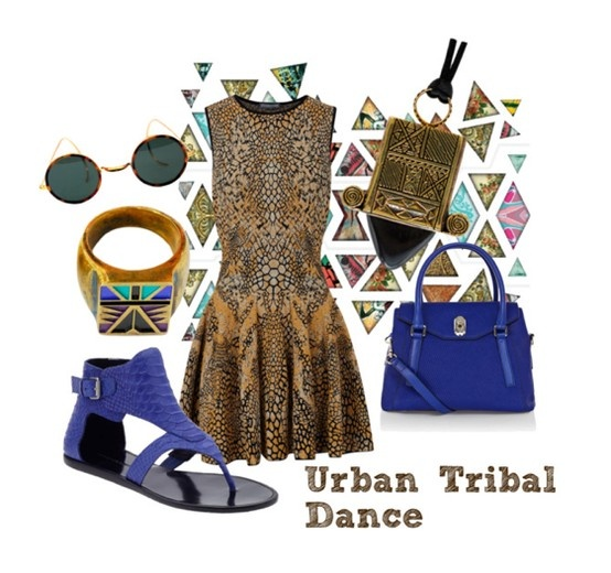#Zoemou #dressmeup #bluemoon #nomadicsun #pattern #tribal #fashion #tribalfashion #animalsprints #blue #urbantribaldance #repetition #accessories #fashionideas #outfits