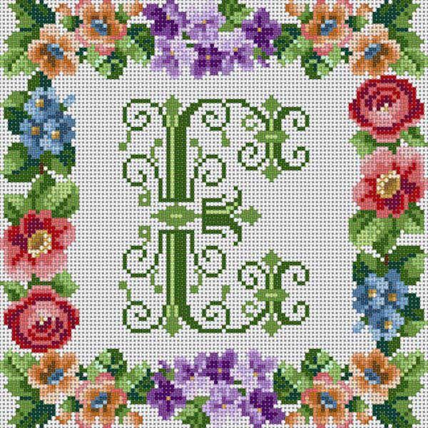 Victorian Alphabet/E