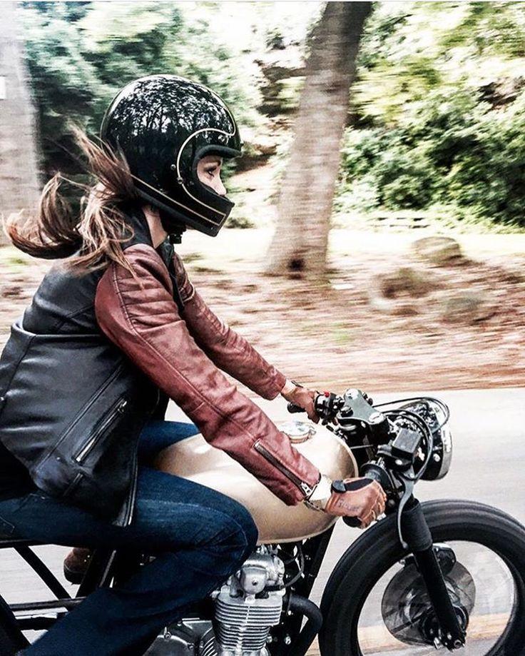 "elegant-apparatus: ""Lovely two tone leather jacket worn by gorgeous @karly.kothmann . @t_kothmann1 """