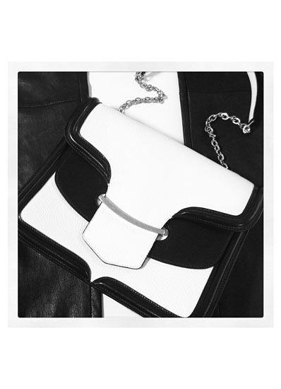 Chanel's lambskin clutch bag