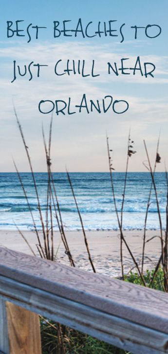 Got amusement park fatigue? Head to these beaches near Orlando.