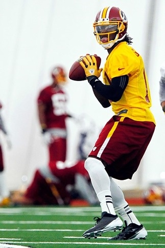 NFL: Redskins And Griffin III, Gets Deal Done  The Washington Redskins on signed rookie quarterback Robert Griffin III. Griffin's four-year contract is worth $21.1 million and is fully guaranteed, with no offset language.  keepinitrealsports.tumblr.com  keepinitrealsports.wordpress.com  facebook.com/pages/KeepinitRealSports/250933458354216  Mobile- m.keepinitrealsports.com