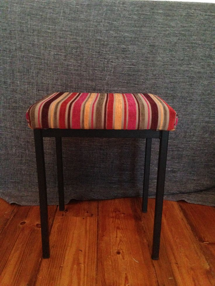 Stool by LOUPupcycling on Etsy