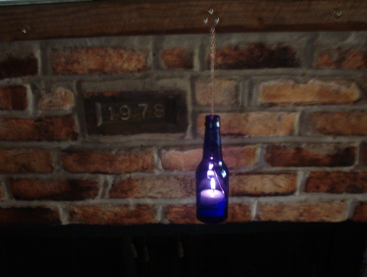 73 best wine bottles some hanging images on pinterest for Best way to drill glass bottle