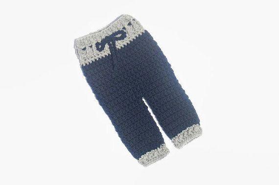 Crochet Newborn Boy Pants Baby Boy Pants by DeesCozyCreations