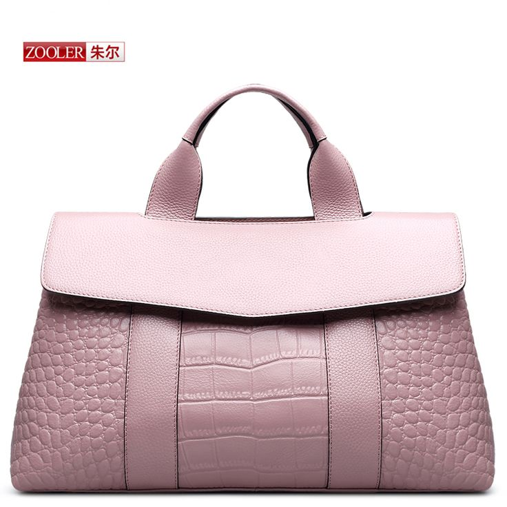 ZOOLER 2016 New arrival Cowhide leather alligator pattern handbags Pink large capacity crossbody bags Top quality bags#HX 5039-in Top-Handle Bags from Luggage & Bags on Aliexpress.com | Alibaba Group