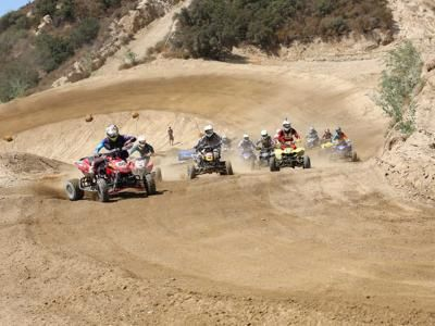 STI and Yamaha Team Up to Present the 2013 Quad-X Racing Series  For the last decade it's been the most important ATV motocross series in the southwest U.S. It started out under the Quadcross moniker in 2003 but now goes by the name of Yamaha Quad-X Racing Series Presented By STI