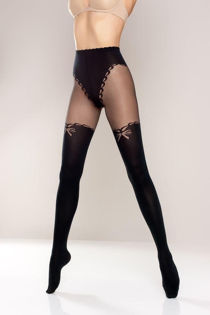 LILLY 02 #tights #decorative #bikini #briefs #fashion #moda #woman #rajstopy #kobieta