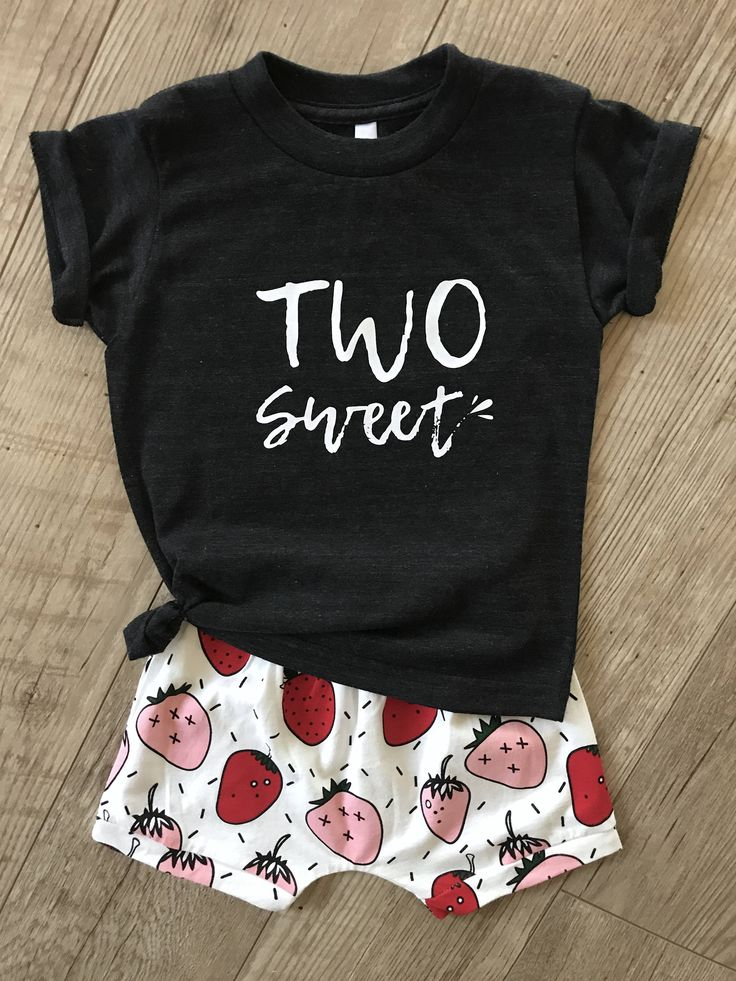 Girls Two Sweet Shirt • 2nd Birthday Shirt • Girls Two-Year-Old Shirt • Second Birthday Outfit • Toddler Birthday Shirt •Two Years Old Shirt by CelebrateYourTribe on Etsy https://www.etsy.com/listing/555601677/girls-two-sweet-shirt-2nd-birthday-shirt