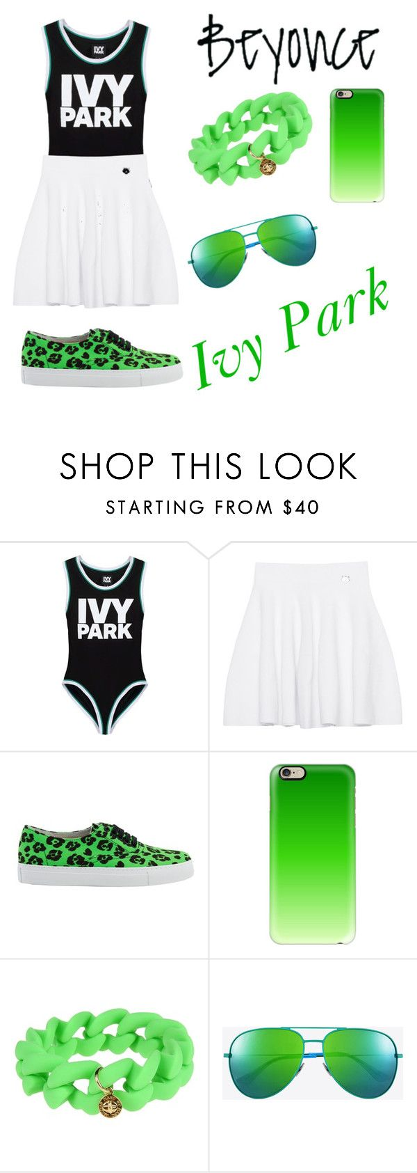 """Look of Beyonce- IVY PARK"" by gabydesigner on Polyvore featuring Ivy Park, Kenzo, Moschino Cheap & Chic, Casetify, Marc by Marc Jacobs and Yves Saint Laurent"