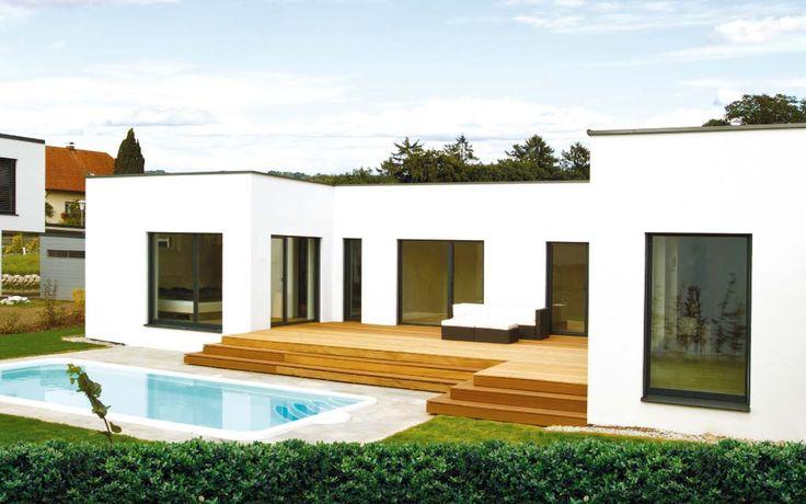 ber ideen zu fertighaus massiv auf pinterest holzhaus sch ner wohnen und architekten. Black Bedroom Furniture Sets. Home Design Ideas
