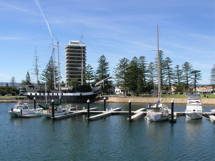 The HMS Buffalo is an exact replica of the original ship that sailed to South Australia and founded Adelaide in 1836.