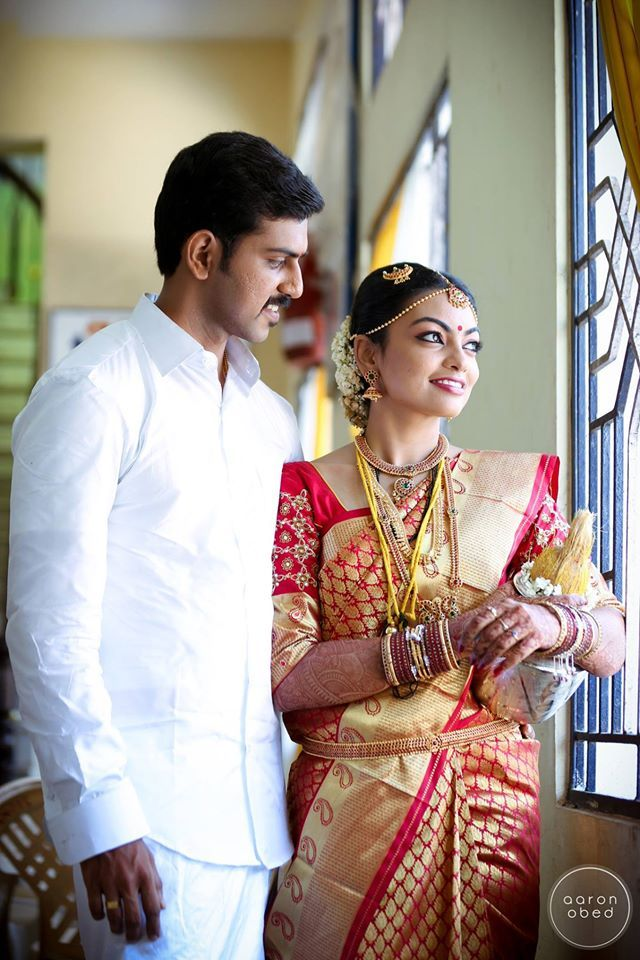 how to wear saree in south indian style