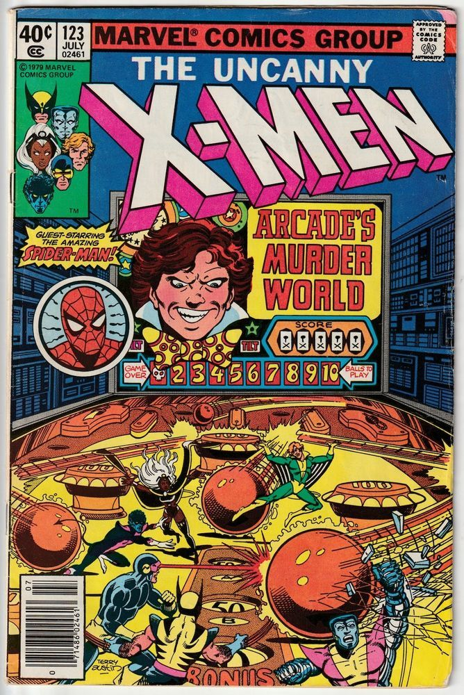 The Uncanny X-Men #123 • Guest-starring Spider-Man and Colleen Wing