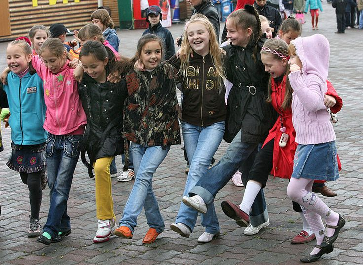 20 de novembre: Dia Internacional de la Infància (International Children's Day). Foto: Festivities in Vladivostok to celebrate International Children's Day