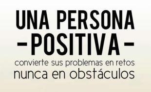 obstaculos problemas persona positiva frase fb