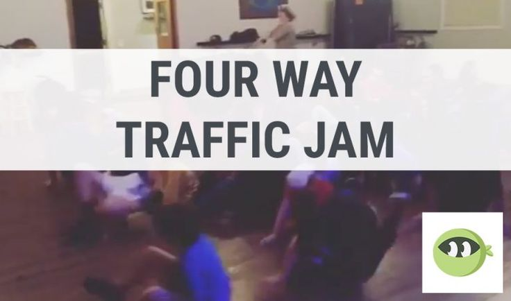 FOUR WAY TRAFFIC JAM: Youth Group Games