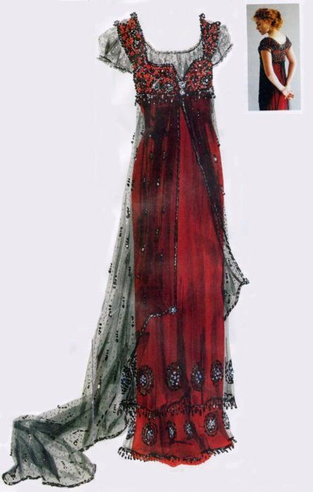 One of Kate Winslets dresses from Titanic. Designed my Deborah L. Scott.#Repin By:Pinterest++ for iPad#