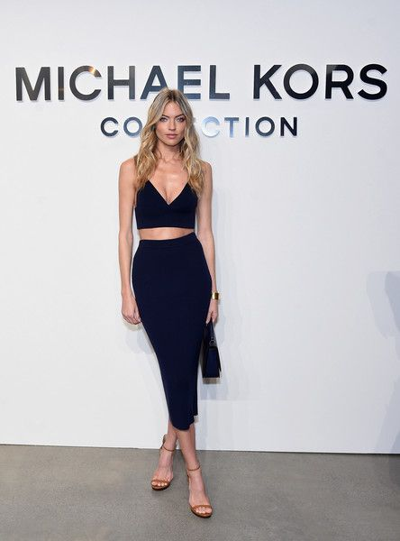 Martha Hunt at Michael Kors Collection - NYFW Fall 2017: The Can't-Miss Celeb Looks from the FROW  - Photos