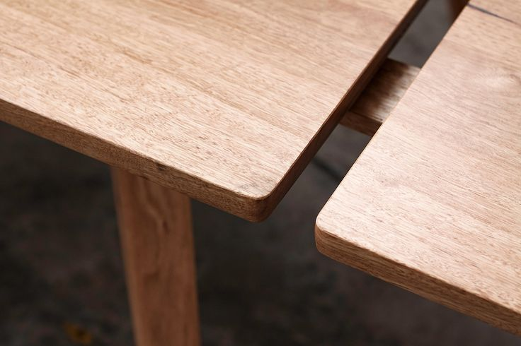 YARD Furniture, CUSTOM Extendable Dining Table made from recycled Yellow Stringybark.